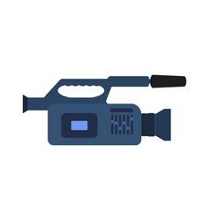 professional video camera icon vector image vector image