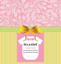 ANNOUNCEMENT INVITATION CARD vector