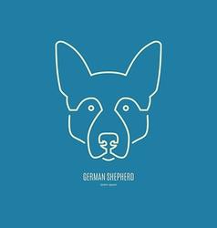 Dog Logo vector image