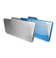 Folder and files vector