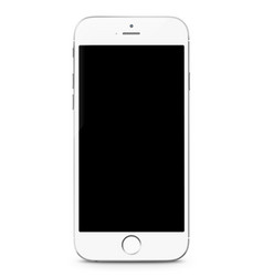 smartphone realistic mobile phone mockup vector image