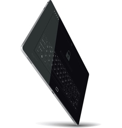 Tablet Standing on One Corner vector