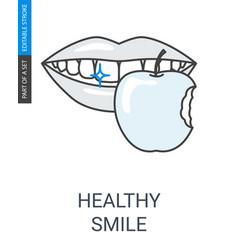 teethhealthdurability vector image