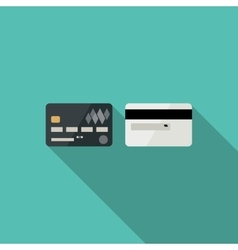 Credit cards icons vector image vector image