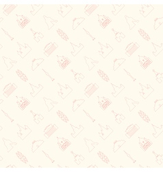 Moscow pattern thin vector