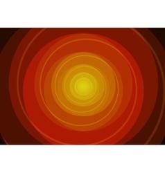 Red spiral background vector image