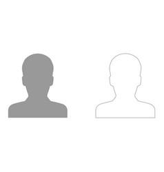 Avatar set icon vector