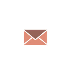 color mail icon email icon for web vector image