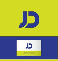 j d logo vector images over 1 100 vectorstock
