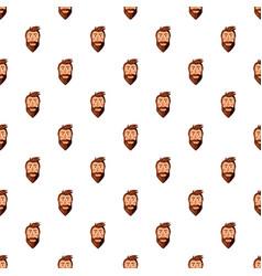 Man face pattern vector