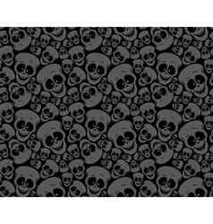 wallpaper funny skulls vector image vector image