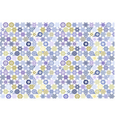 Seamless patchwork tile with victorian motives in vector