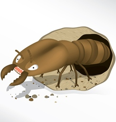 Termite cartoon vector