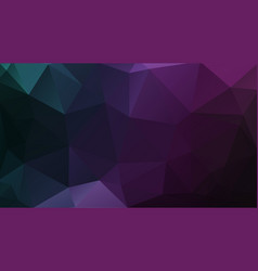dark geometric background purple mosaic triangles vector image