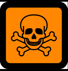 European hazard pictogram vector