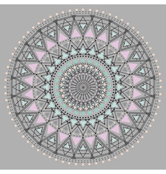geometric hipster circle z4 vector image