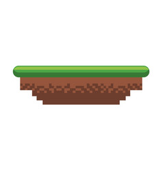 Ground terrain game vector