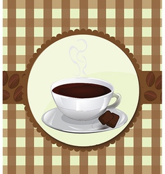 Menu for coffeehouse vector image