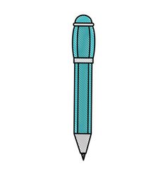 Pen office object vector