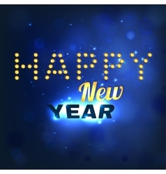 New Year lettering vector image vector image