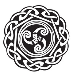 Abstract celtic design vector