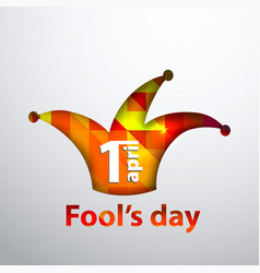 April fool s dayfirst april vector