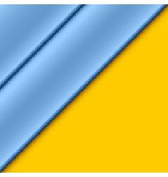 Blue panels vector