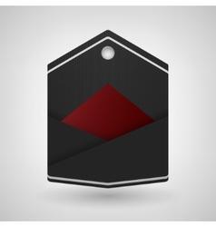 Label banner vector image