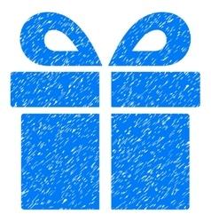 Present Grainy Texture Icon vector