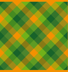 Tartan seamless pattern background to st patricks vector