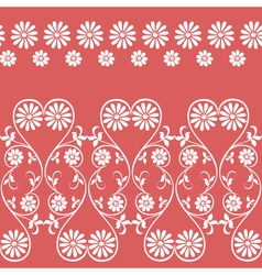swirling decorative floral elements ornament vector image vector image