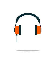 headphone icon audio device symbol trendy sign vector image