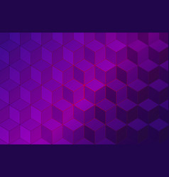 abstract purple geometric vector image
