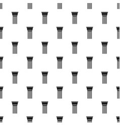 building column pattern seamless vector image