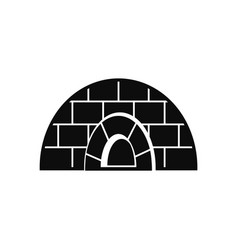 icehouse icon simple style vector image