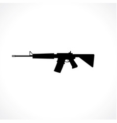 Semi-automatic rifle vector