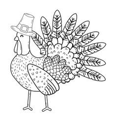 Thanksgiving day cartoon vector