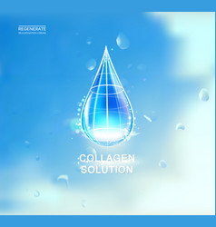 cosmetic oil lotion vector image
