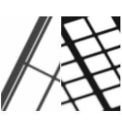 Abstract soft shadows mini set vector