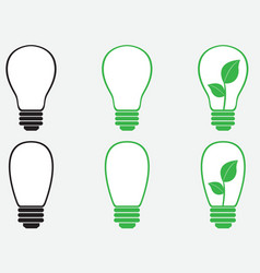 Bulbs vector image