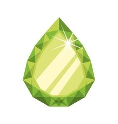 Diamond gem jewelry stone icon graphic vector