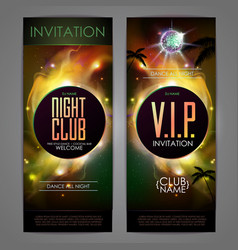 Disco ball background disco party poster vector