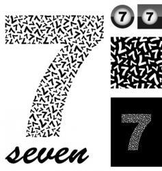 seven vector image
