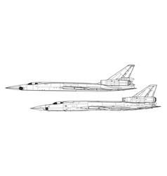 Tupolev tu-22 blinder vector