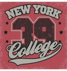 Fashion Typography Graphics t-shirt vector image
