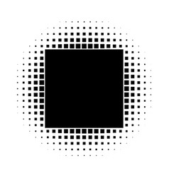 Grunge halftone background vintage dots vector