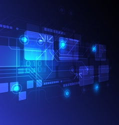 Digital technology concept background vector