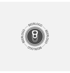 modern beer logo icon vector image
