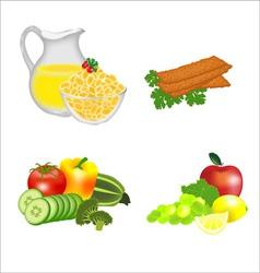 Dietary food vector