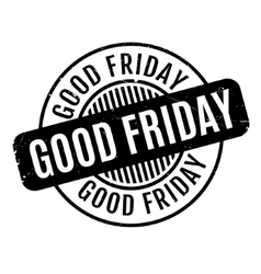 Good Friday rubber stamp vector
